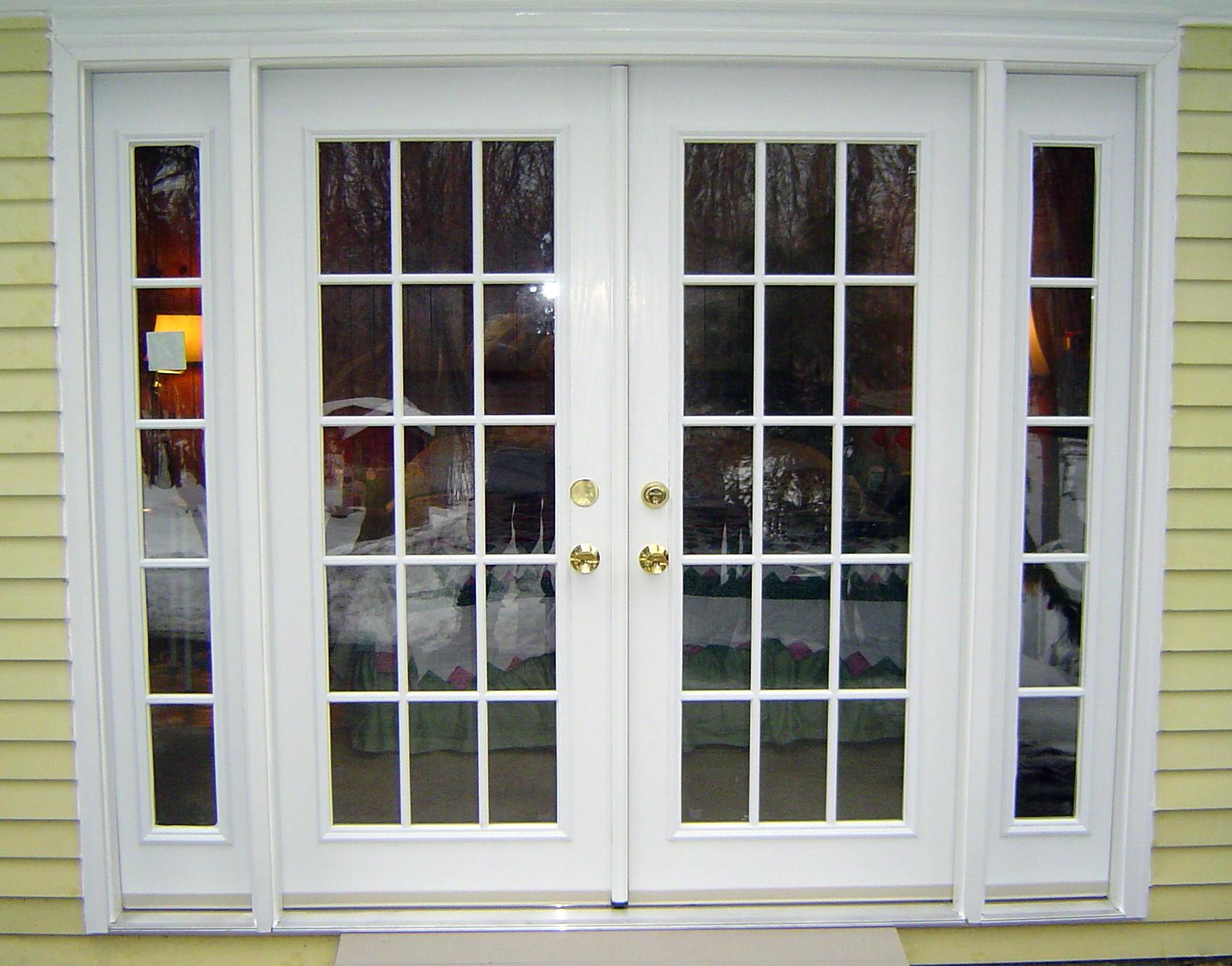 fiberglass french doors exterior photo - 1
