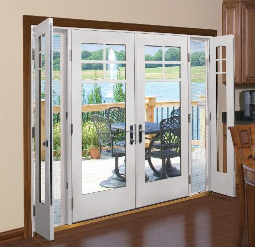 fiberglass french doors exterior photo - 10