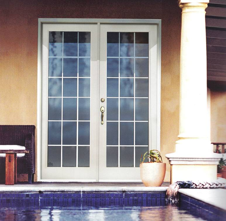 fiberglass french doors exterior photo - 7