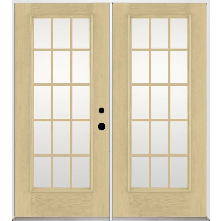 fiberglass french doors exterior photo - 9