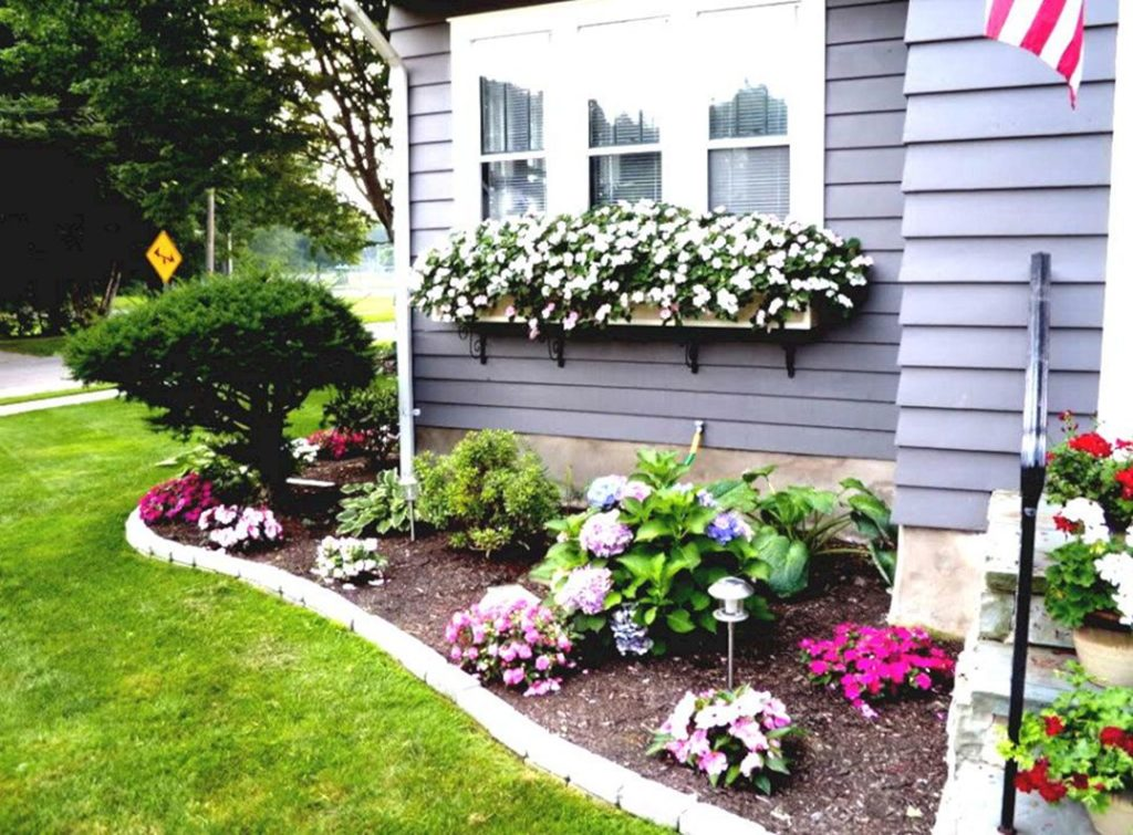flower garden entrance ideas photo - 2
