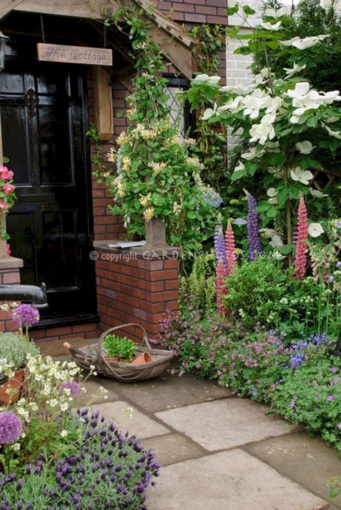 flower garden entrance ideas photo - 3