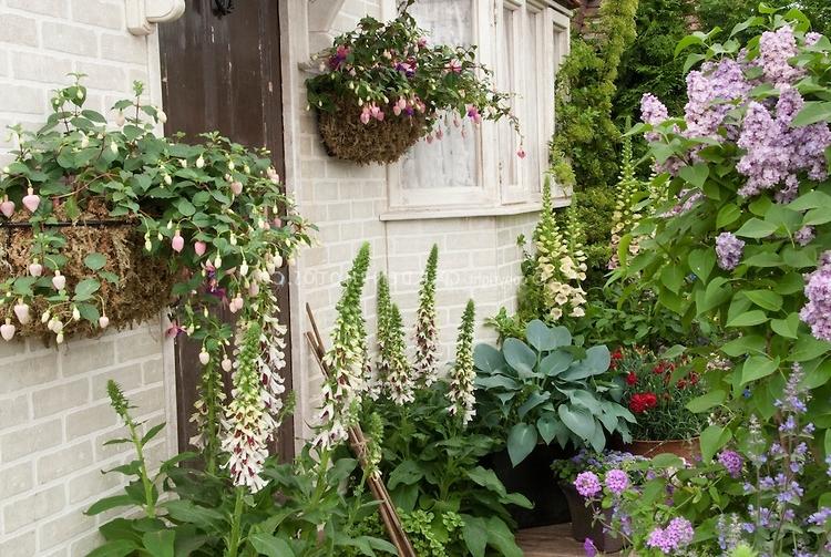 flower garden entrance ideas photo - 6