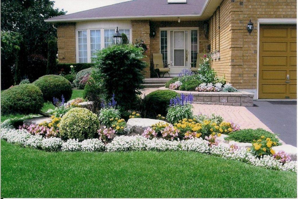 flower garden entrance ideas photo - 9