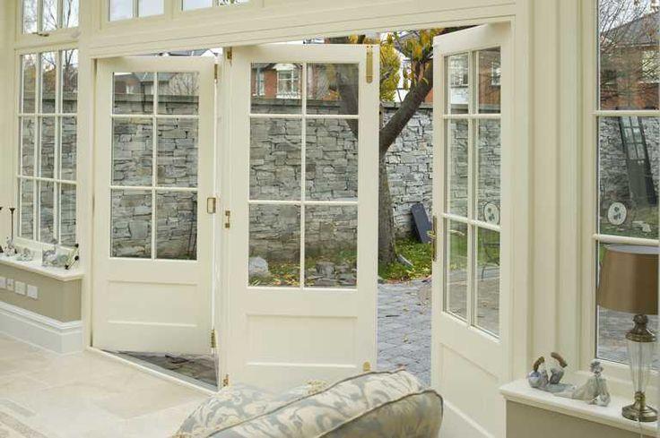 folding french doors exterior photo - 10