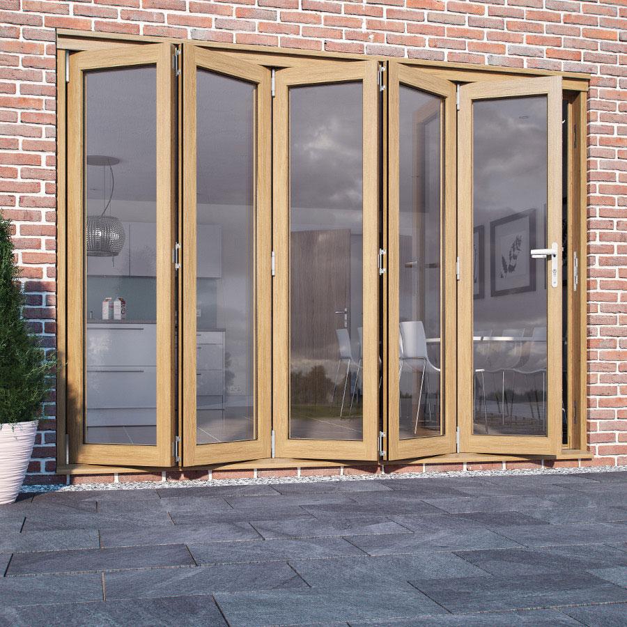 folding french doors exterior photo - 4