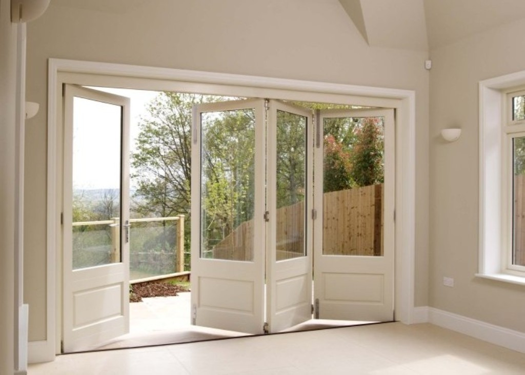Folding French Doors Exterior Hawk Haven