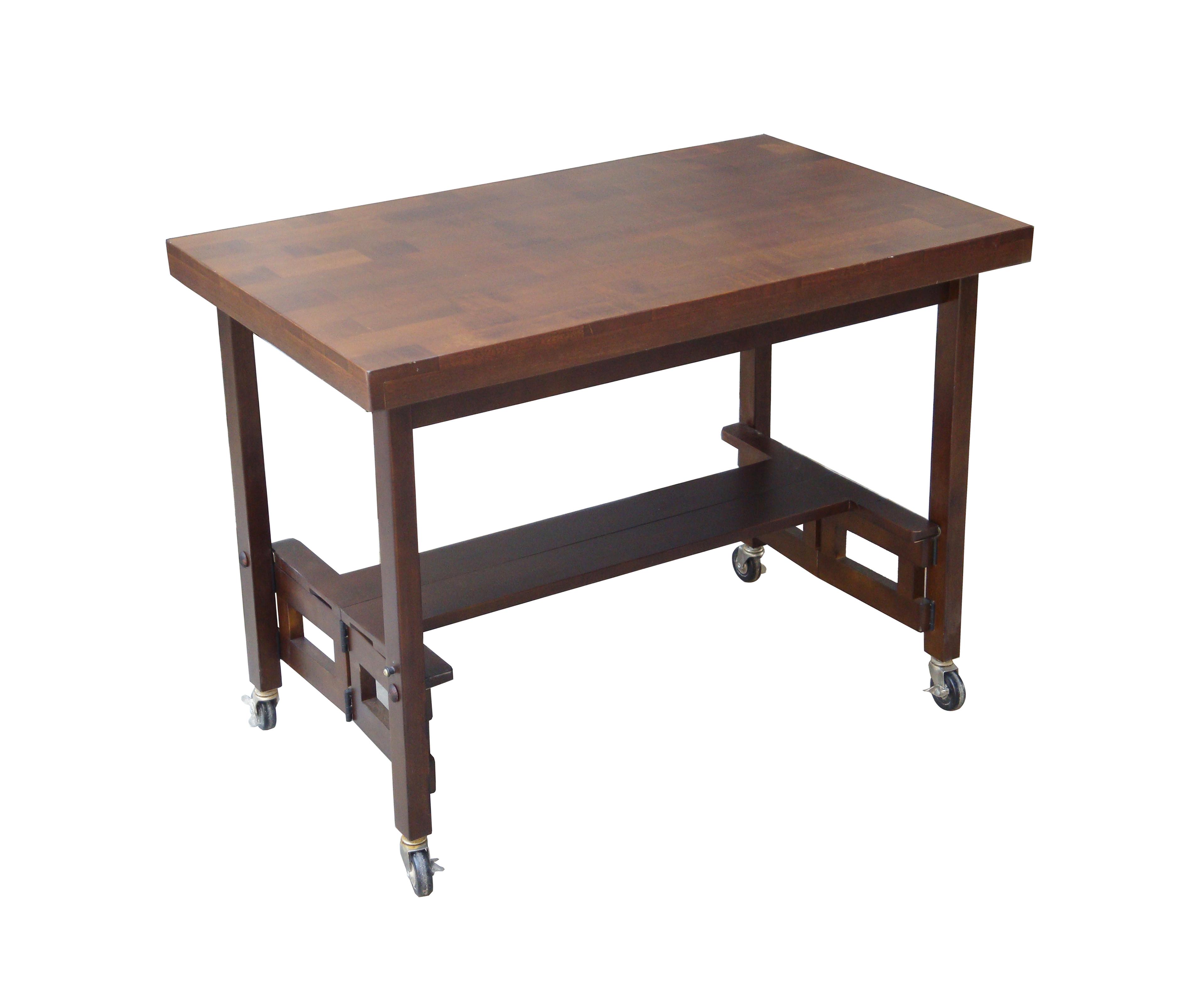 folding kitchen table photo - 7