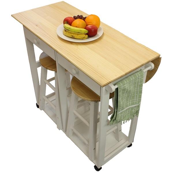 folding kitchen table photo - 8