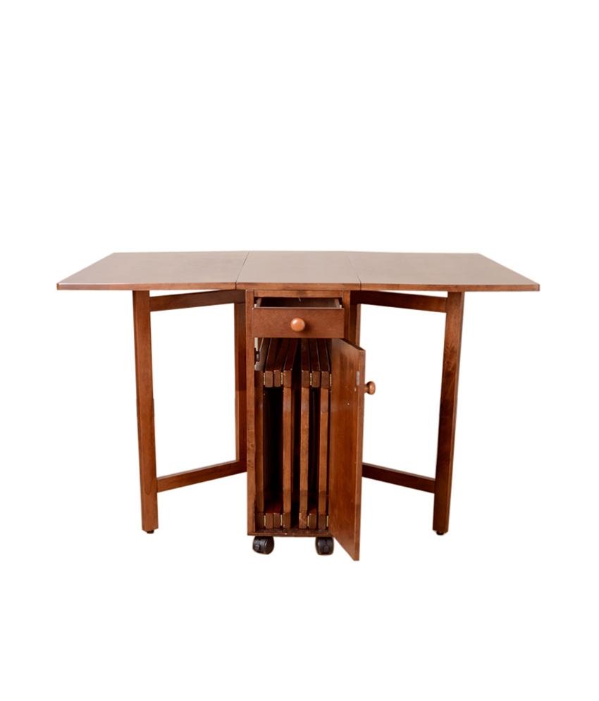 folding kitchen table photo - 9
