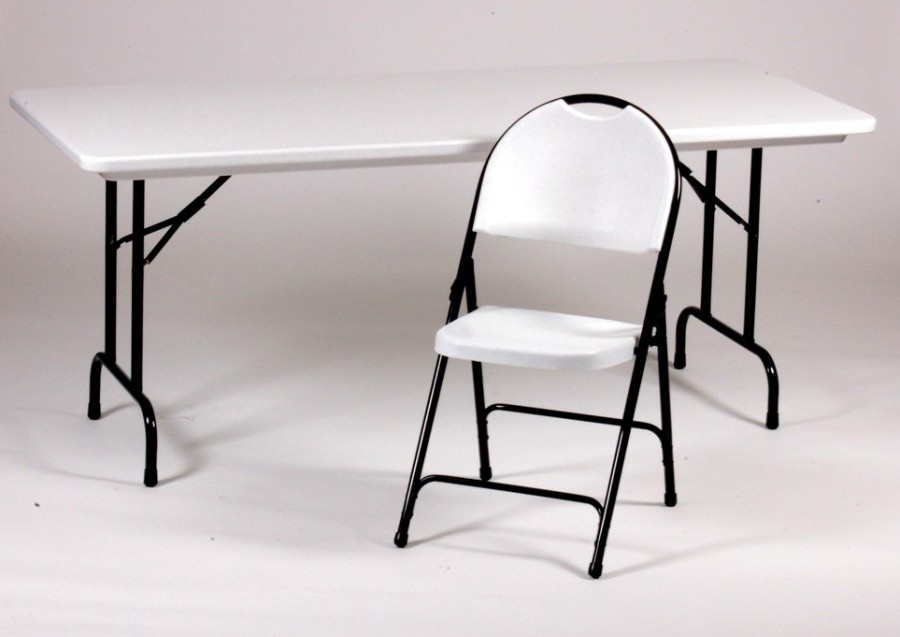 folding kitchen table and chairs photo - 10