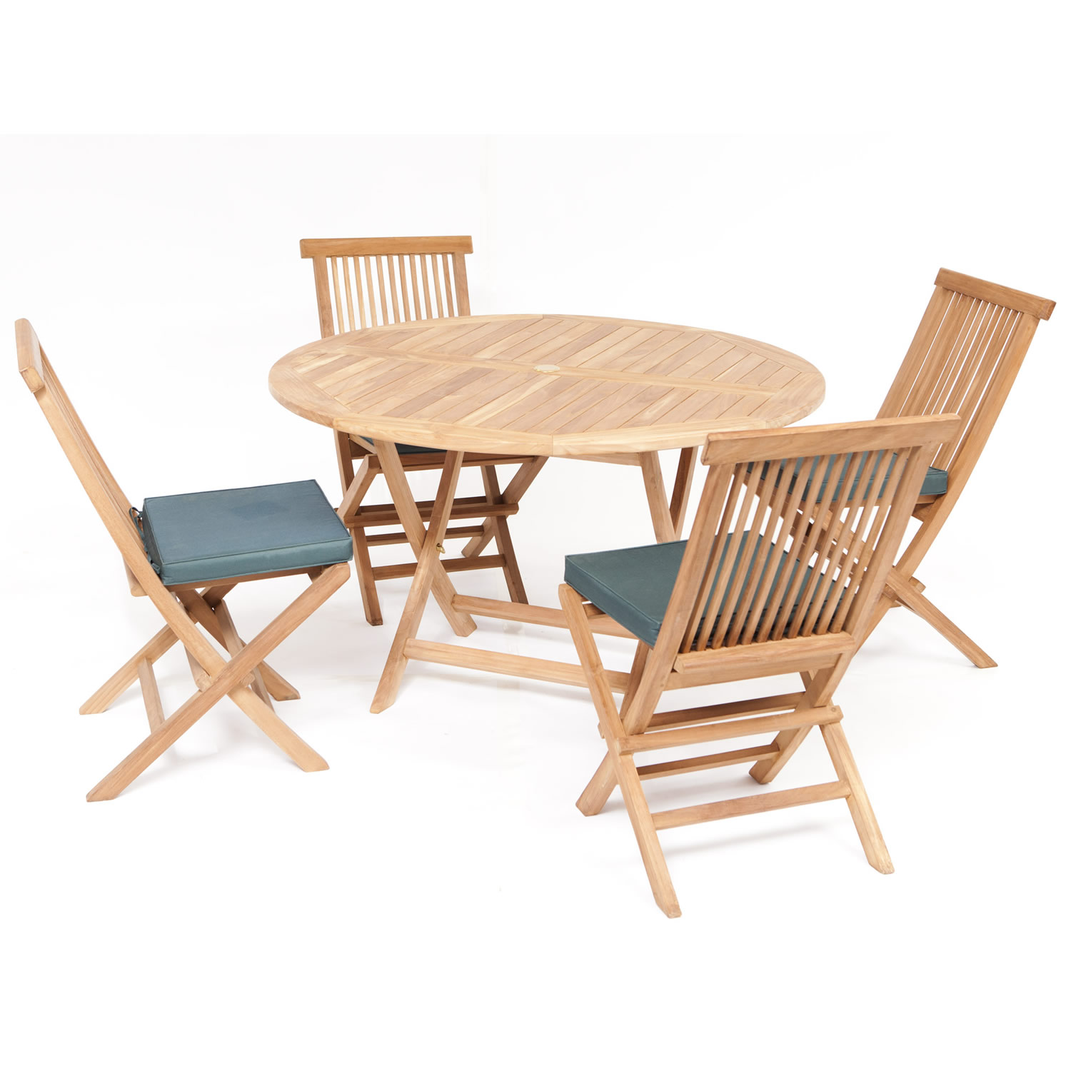 folding kitchen table and chairs set photo - 10