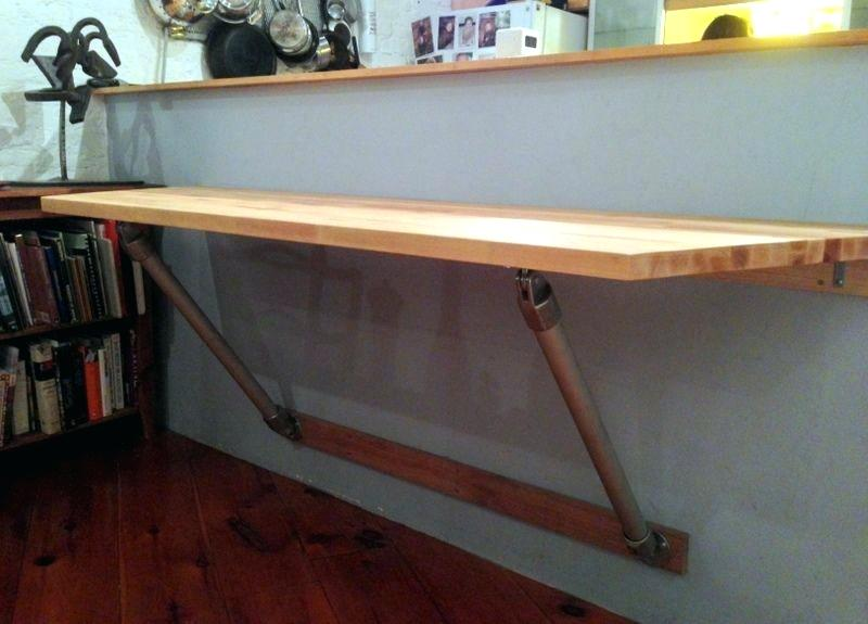 folding kitchen table diy photo - 6