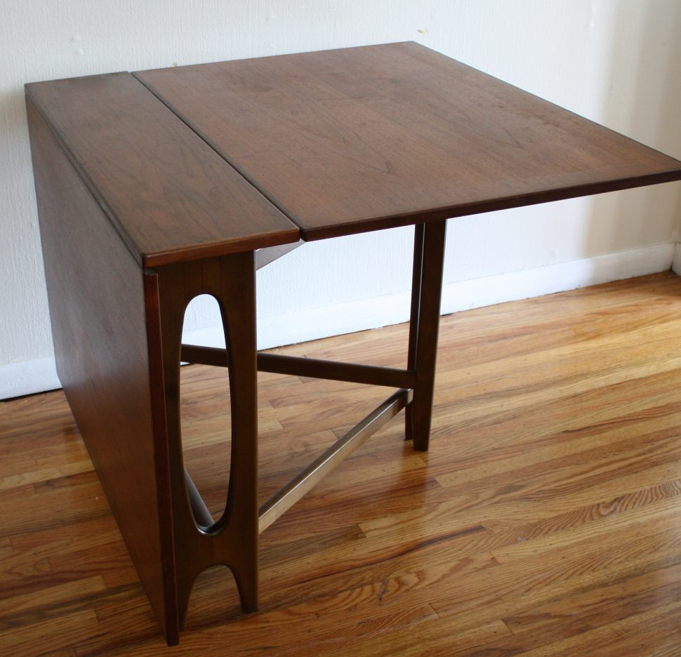 folding kitchen table diy photo - 8