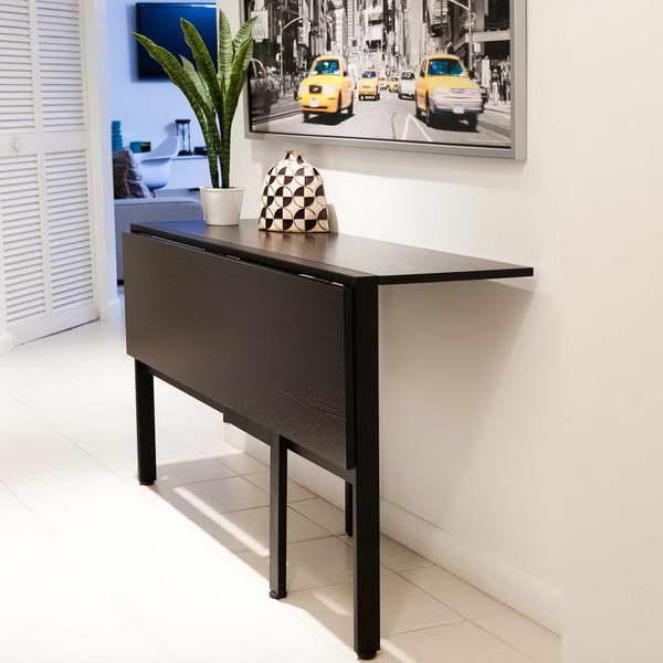 folding kitchen table ikea photo - 2