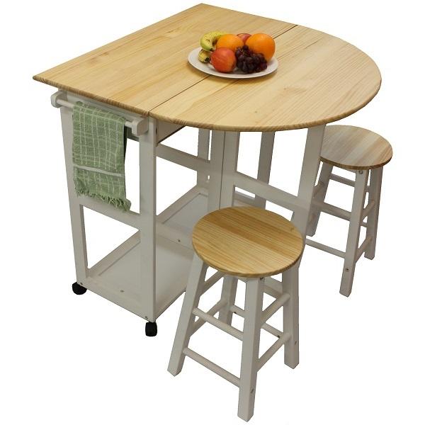 folding kitchen table sets photo - 1