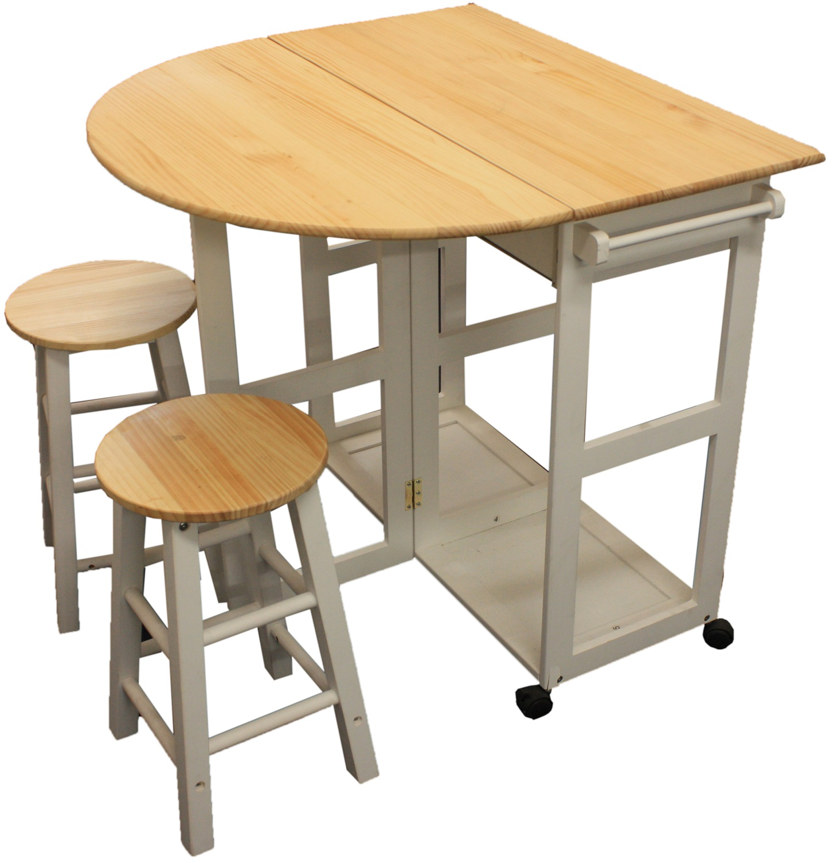 folding kitchen table sets photo - 3