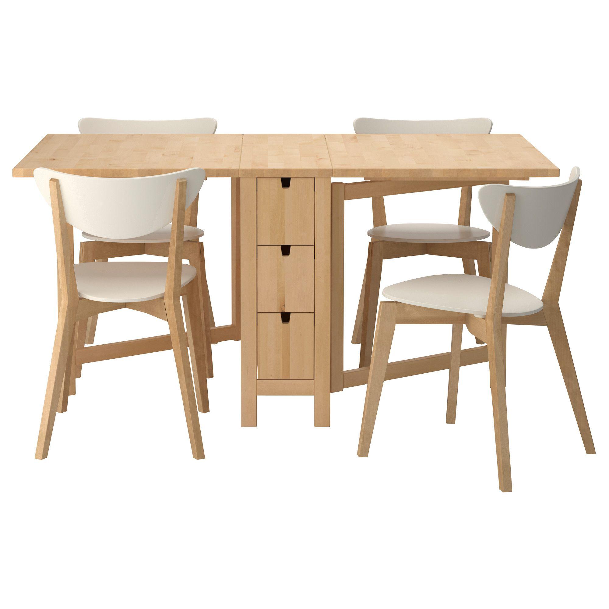 folding kitchen table sets photo - 6