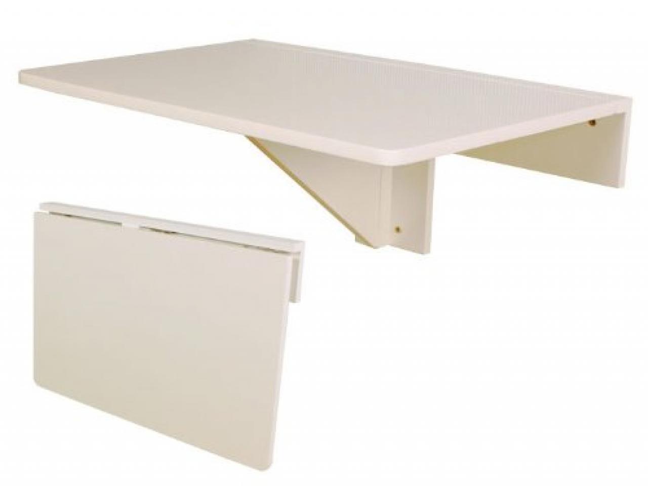 folding kitchen table wall mounted photo - 1
