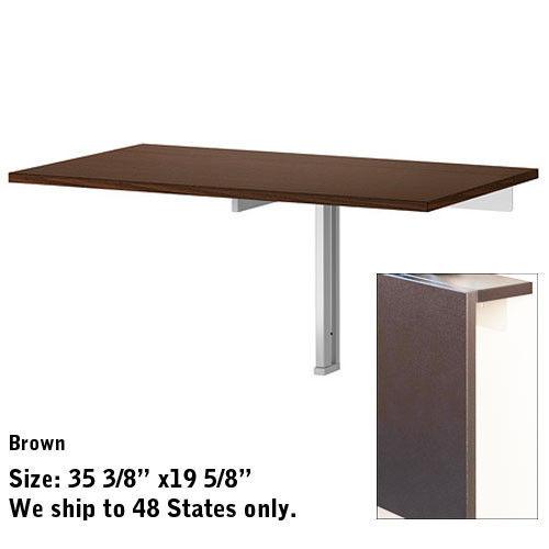 folding kitchen table wall mounted photo - 8