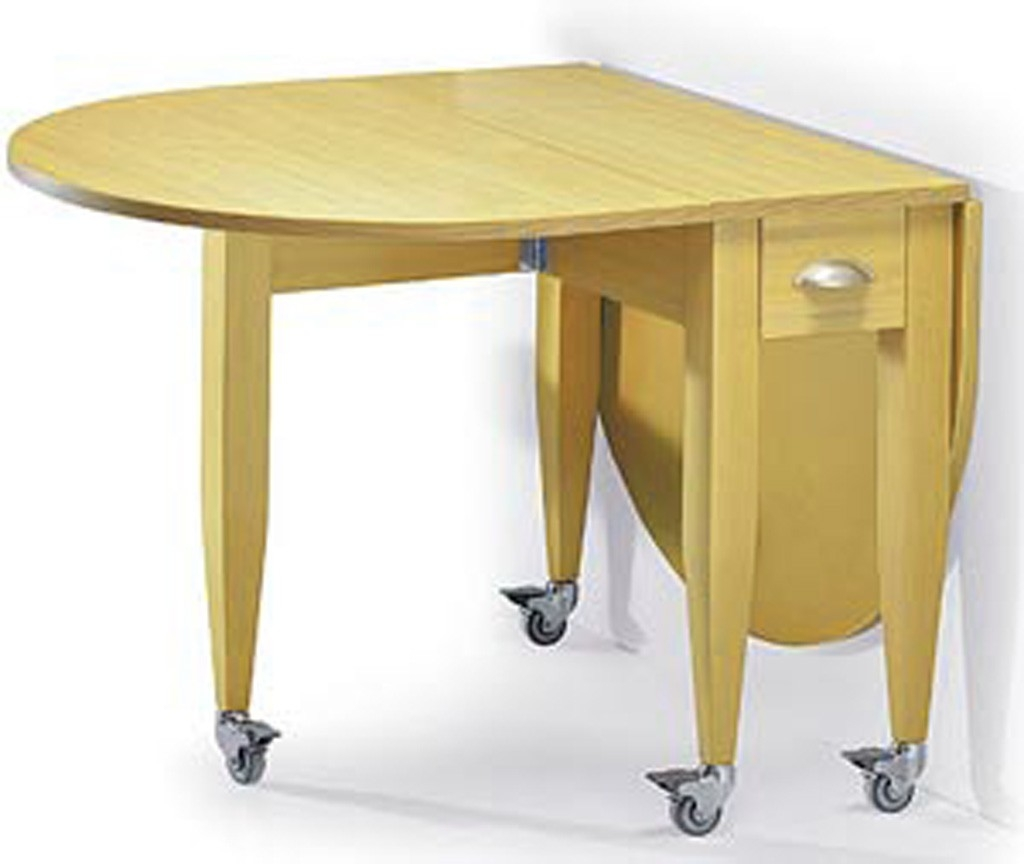 folding kitchen tables small spaces photo - 10