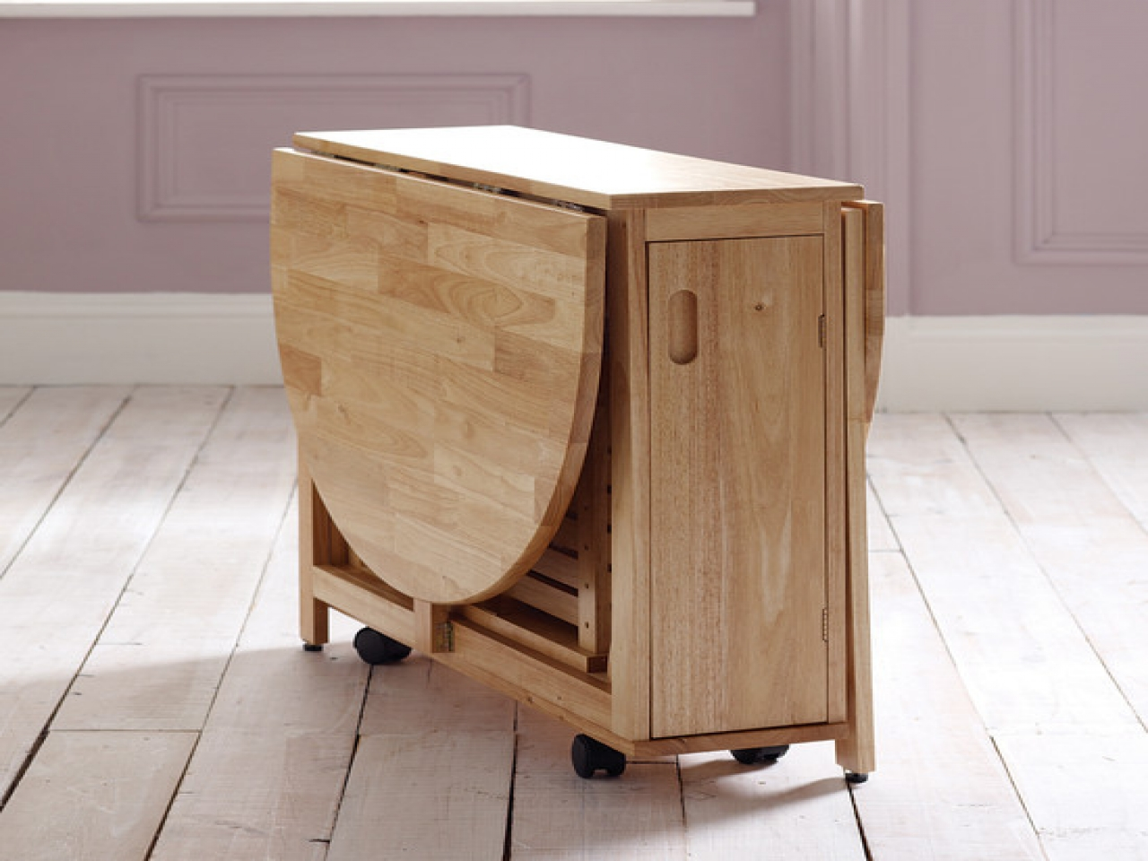 folding kitchen tables small spaces photo - 4