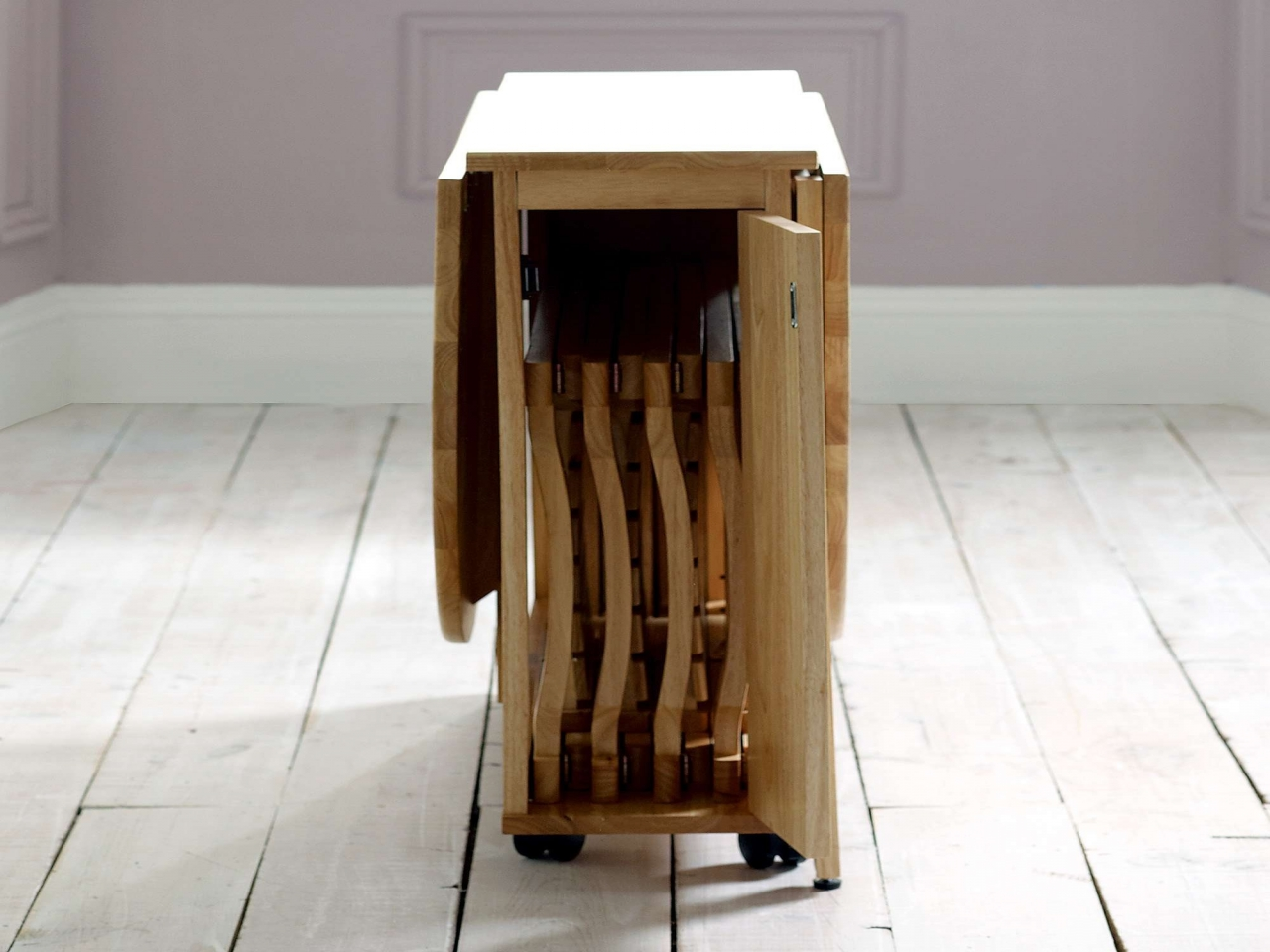folding kitchen tables small spaces photo - 6