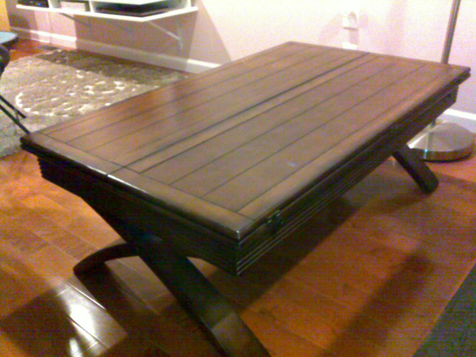 folding tea table designs photo - 3