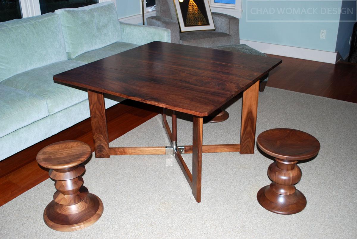 folding tea table designs photo - 5