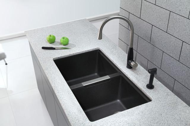 franke black granite sink cleaner photo - 3