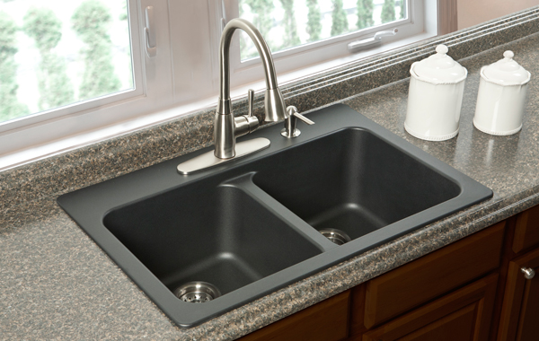 franke black granite sink cleaner photo - 4