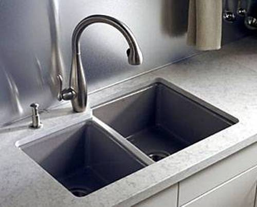 franke black granite sink cleaner photo - 8