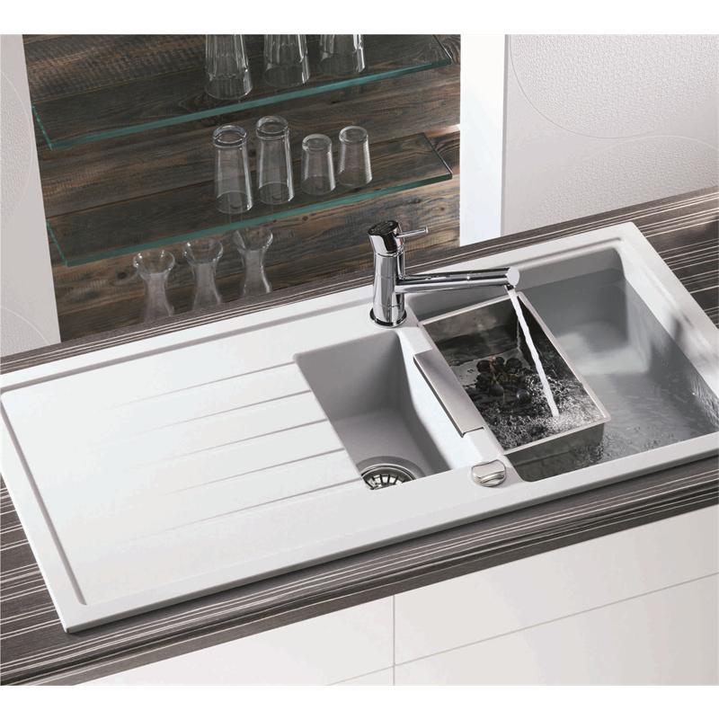 franke black granite sink cleaner photo - 9