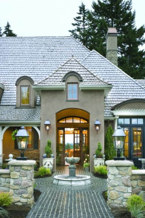 french country exterior ideas photo - 3