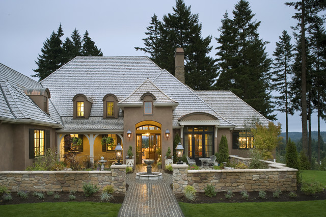 french country exterior ideas photo - 4