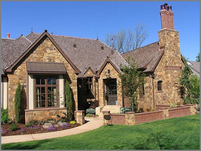 french country exterior ideas photo - 9