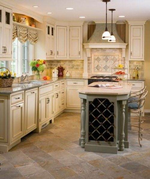 Create Customize Your Kitchen Cabinets Easthaven: French Country Galley Kitchen