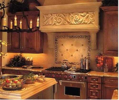 french country kitchen backsplash ideas photo - 6