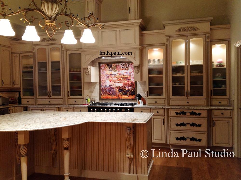 french country kitchen backsplash ideas photo - 7