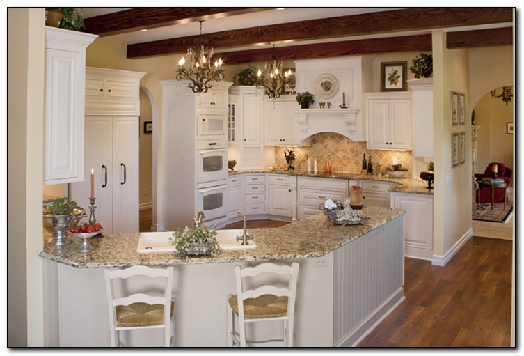 French Country Kitchen Backsplash Ideas Pictures Photo   2