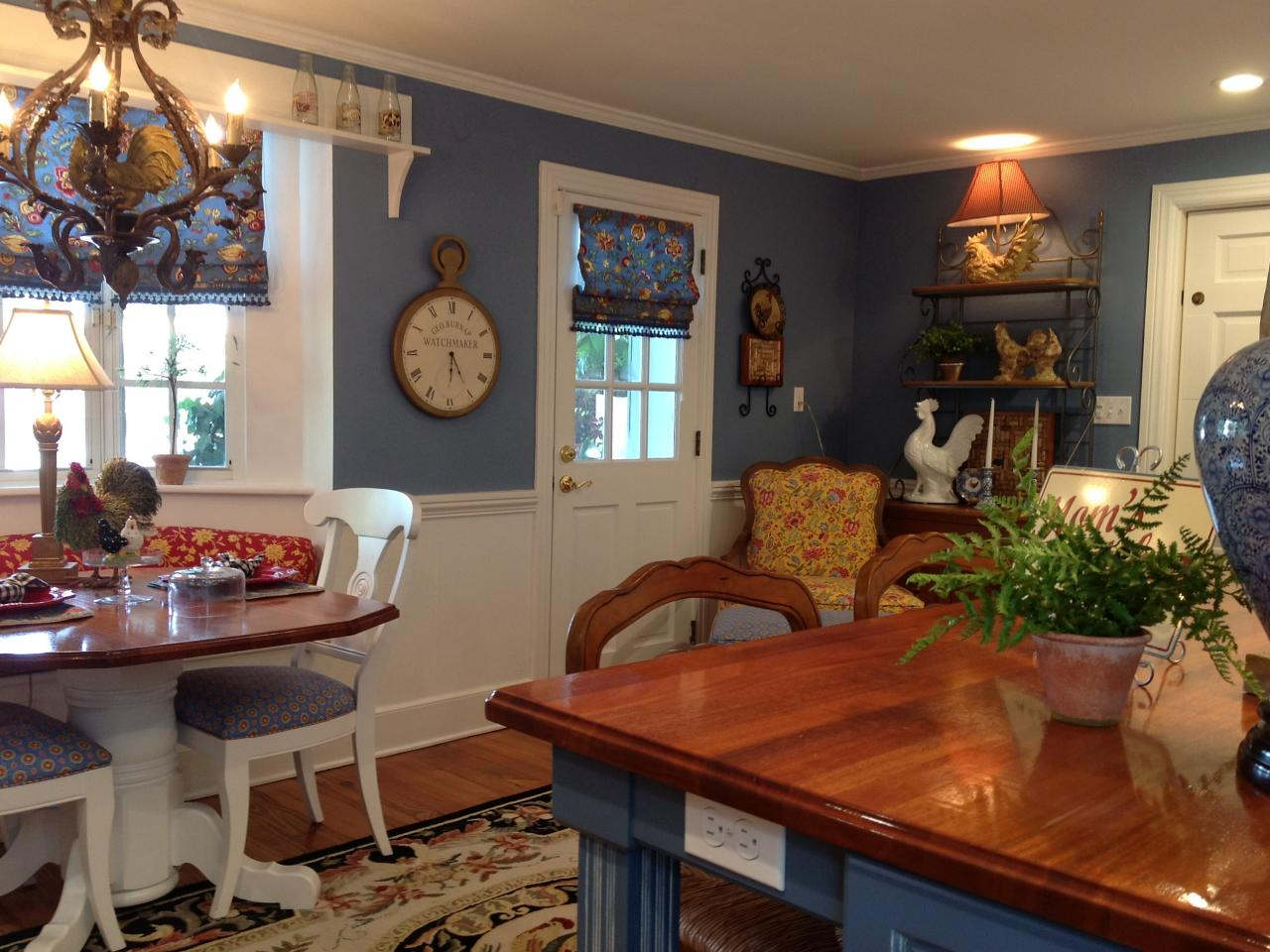 french country kitchen blue and yellow photo - 7 & French country kitchen blue and yellow | Hawk Haven