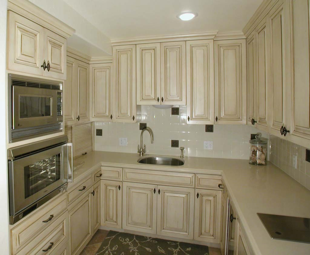 french country kitchen cabinets photo - 2