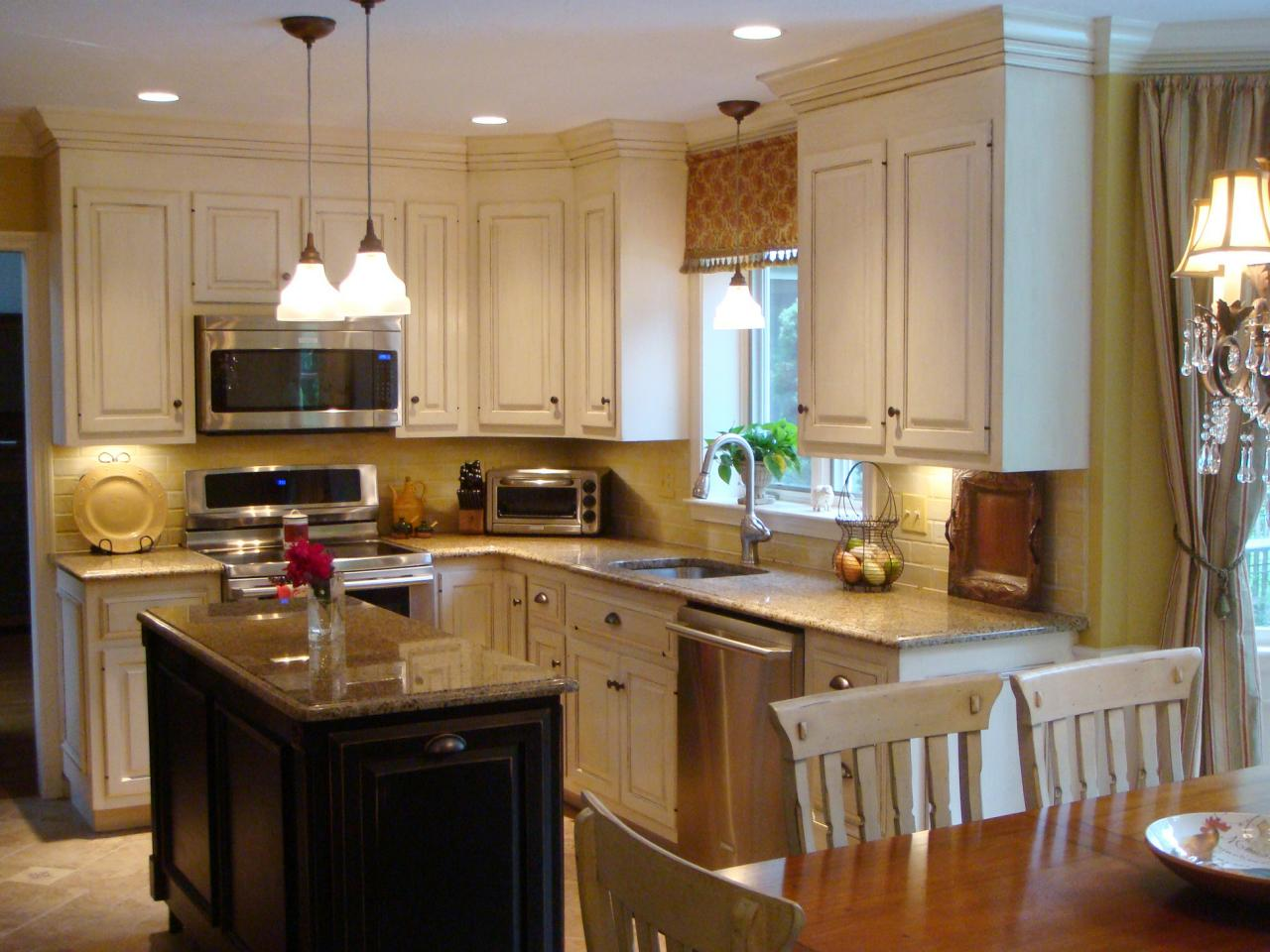 french country kitchen cabinets photo - 6