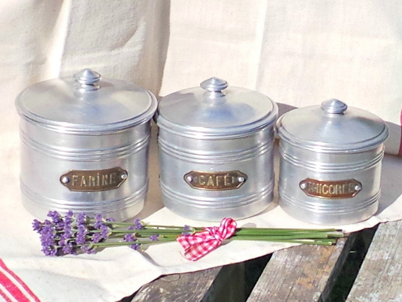 french country kitchen canisters photo - 10