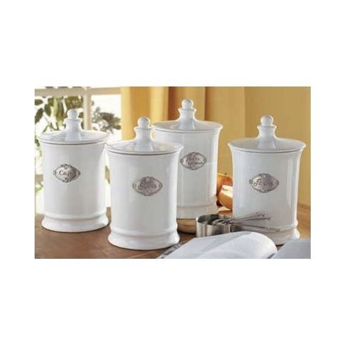 french country kitchen canisters photo - 7