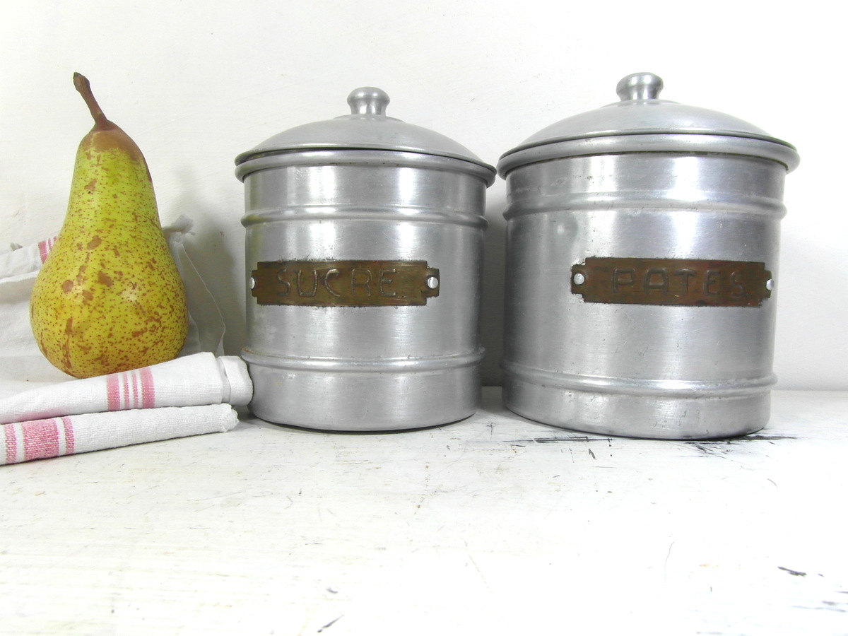 french country kitchen canisters photo - 9