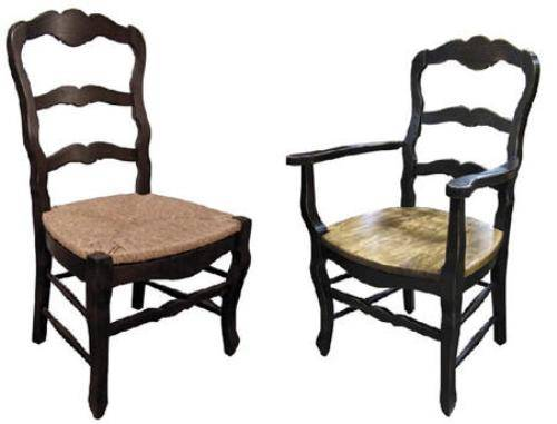 french country kitchen chairs photo - 2