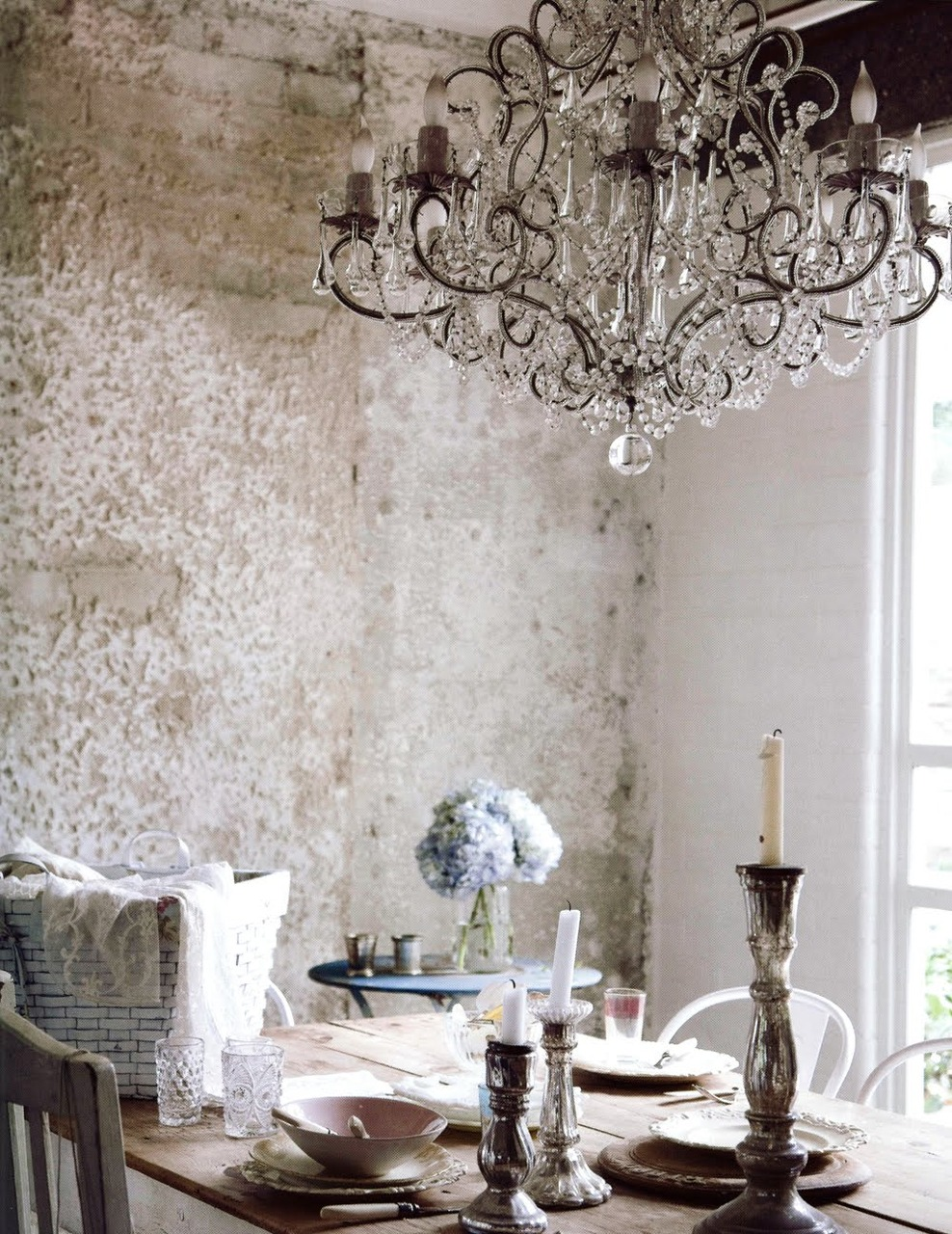 french country kitchen chandelier photo - 10