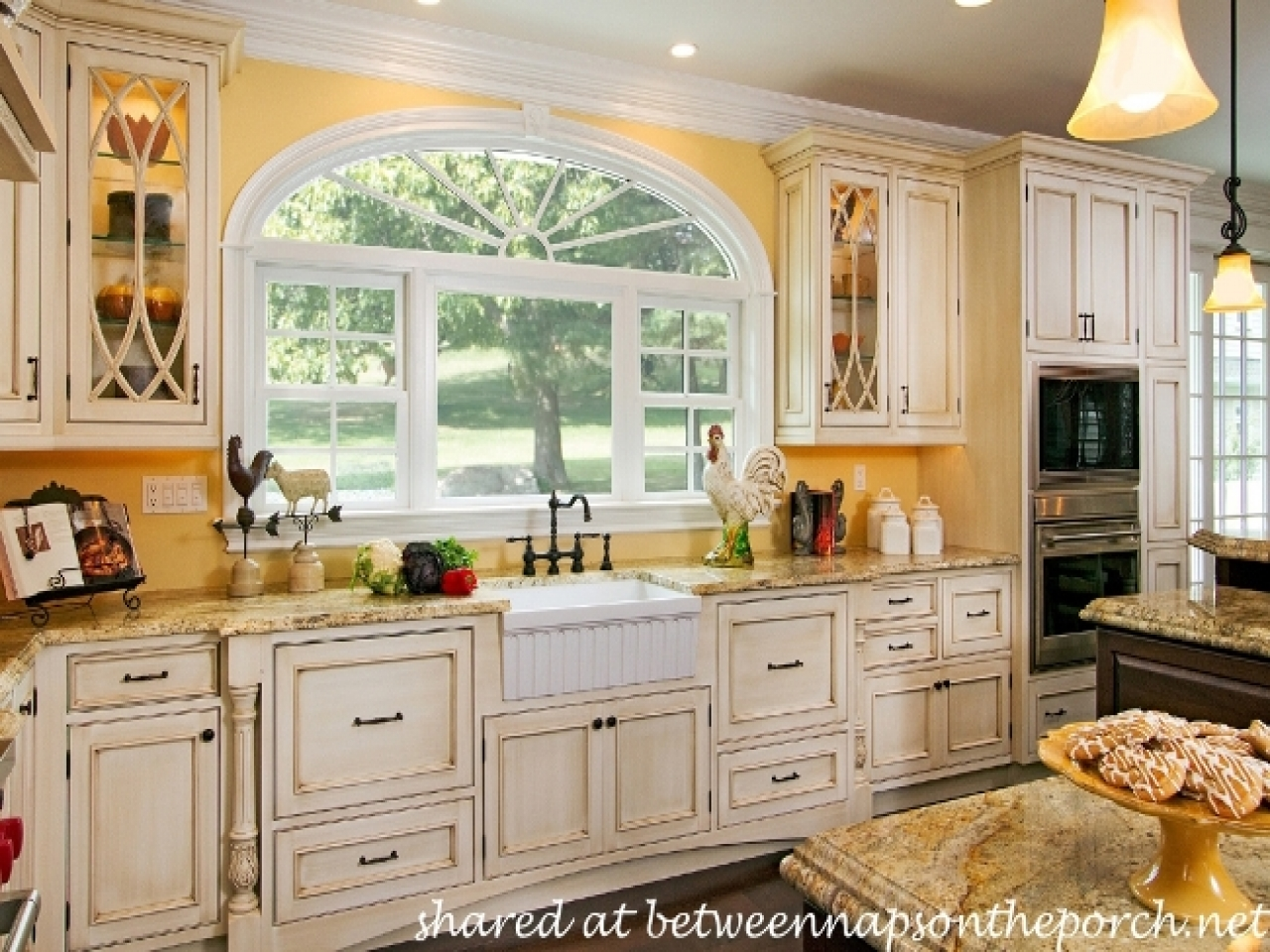 french country kitchen colors photo - 10