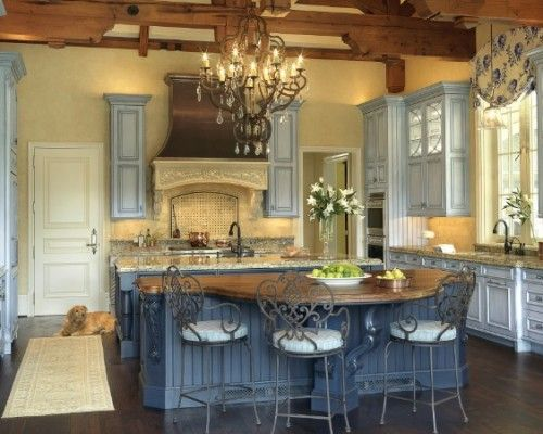 french country kitchen colors photo - 2